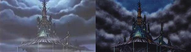 Il castello, nella Theatrical edition e nella seconda